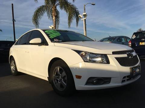 2014 Chevrolet Cruze for sale at CARSTER in Huntington Beach CA
