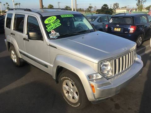 2012 Jeep Liberty for sale at CARSTER in Huntington Beach CA