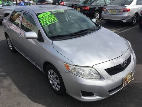 2010 Toyota Corolla for sale at CARSTER in Huntington Beach CA