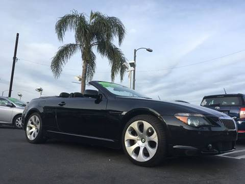 2007 BMW 6 Series for sale at CARSTER in Huntington Beach CA