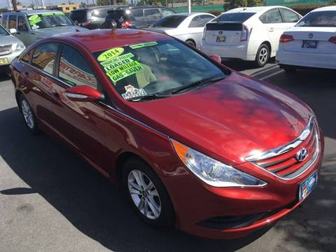2014 Hyundai Sonata for sale at CARSTER in Huntington Beach CA