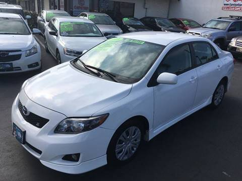 2009 Toyota Corolla for sale at CARSTER in Huntington Beach CA