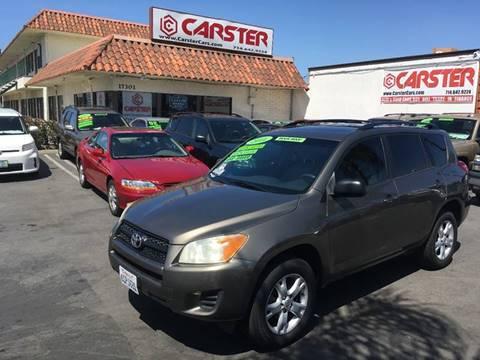 2011 Toyota RAV4 for sale at CARSTER in Huntington Beach CA