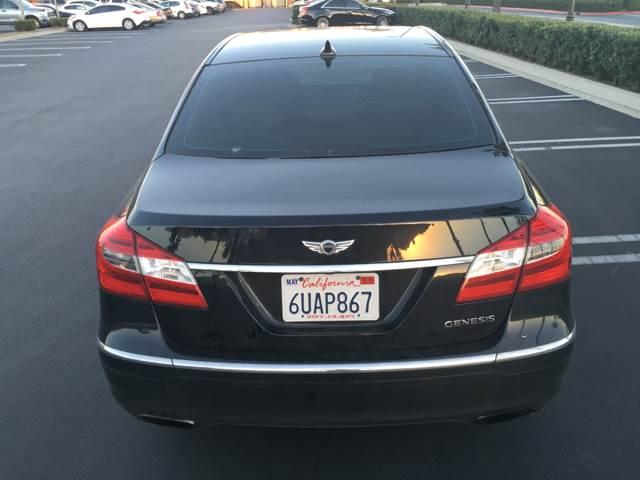 2012 Hyundai Genesis for sale at CARSTER in Huntington Beach CA