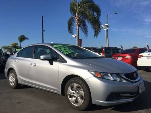 2015 Honda Civic for sale at CARSTER in Huntington Beach CA