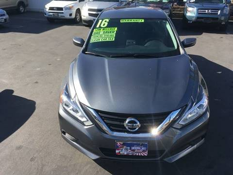 2016 Nissan Altima for sale at CARSTER in Huntington Beach CA