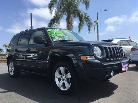 2015 Jeep Patriot for sale at CARSTER in Huntington Beach CA