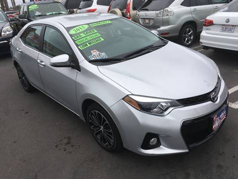 2015 Toyota Corolla for sale at CARSTER in Huntington Beach CA