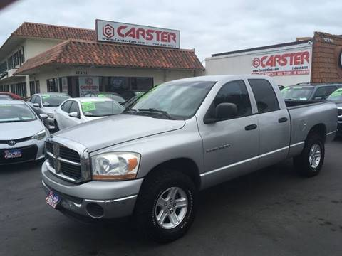2006 Dodge Ram Pickup 1500 for sale at CARSTER in Huntington Beach CA