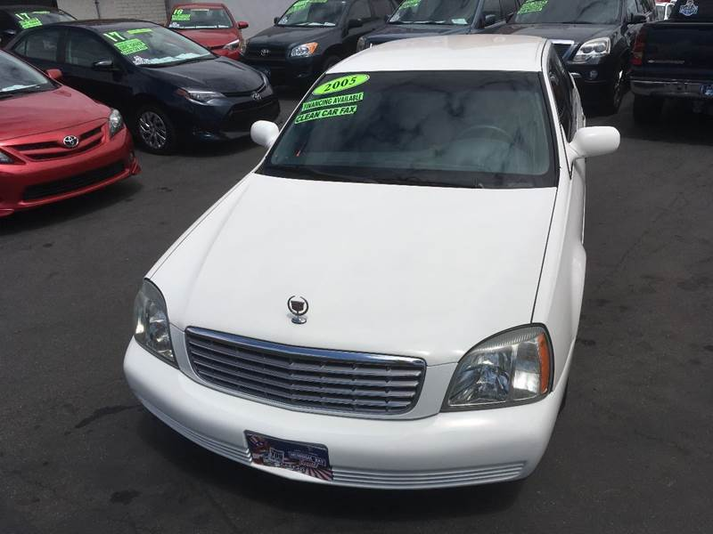 2005 Cadillac DeVille for sale at CARSTER in Huntington Beach CA