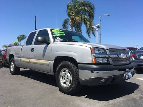2004 Chevrolet Silverado 1500 for sale at CARSTER in Huntington Beach CA