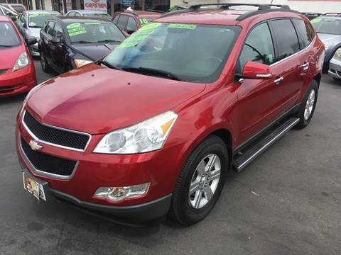 2012 Chevrolet Traverse for sale at CARSTER in Huntington Beach CA
