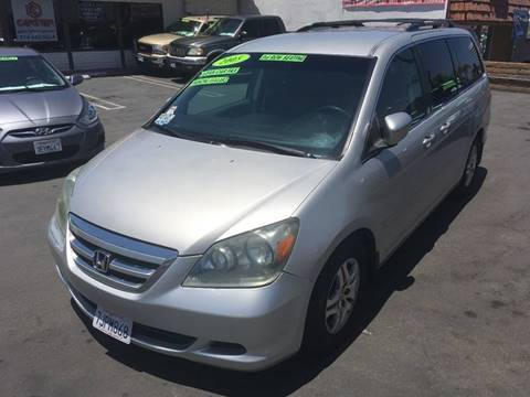 2005 Honda Odyssey for sale at CARSTER in Huntington Beach CA