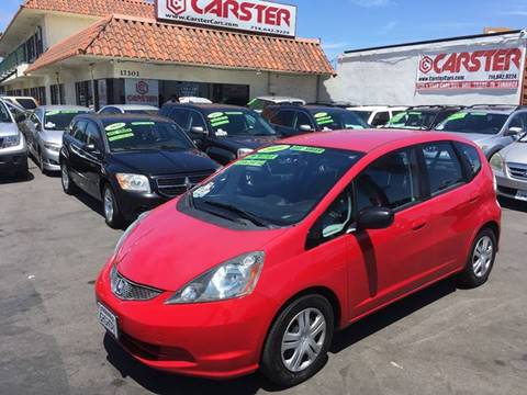 2009 Honda Fit for sale at CARSTER in Huntington Beach CA