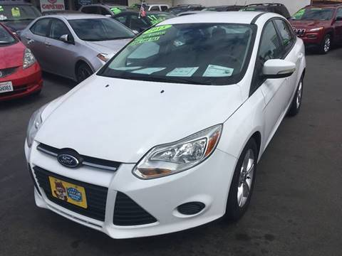 2013 Ford Focus for sale at CARSTER in Huntington Beach CA