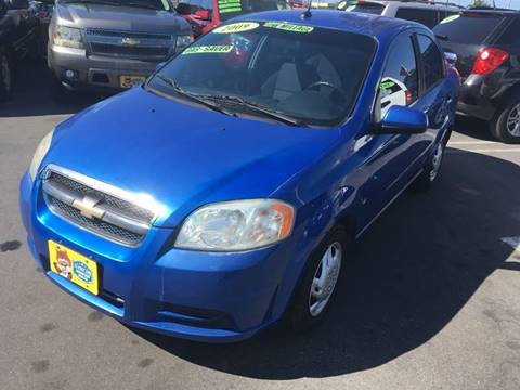 2009 Chevrolet Aveo for sale at CARSTER in Huntington Beach CA