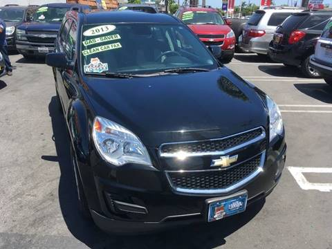 2013 Chevrolet Equinox for sale at CARSTER in Huntington Beach CA