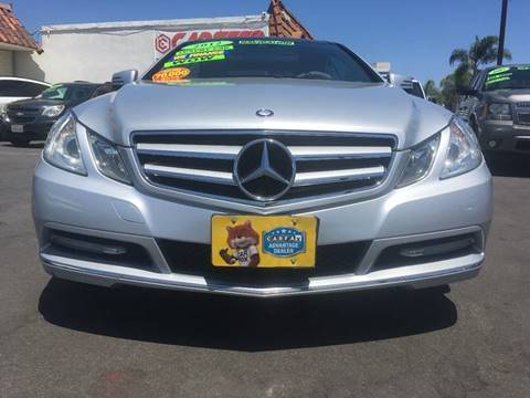 2012 Mercedes-Benz E-Class for sale at CARSTER in Huntington Beach CA