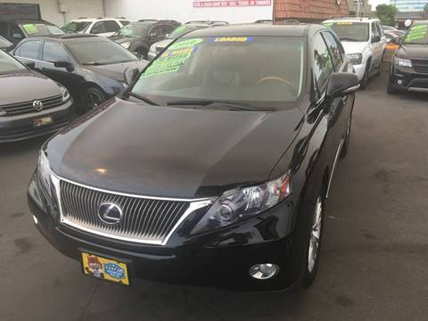 2010 Lexus RX 450h for sale at CARSTER in Huntington Beach CA