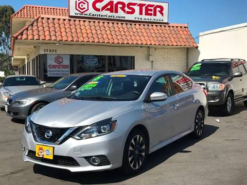 2016 Nissan Sentra for sale at CARSTER in Huntington Beach CA