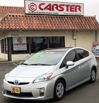 2011 Toyota Prius for sale at CARSTER in Huntington Beach CA