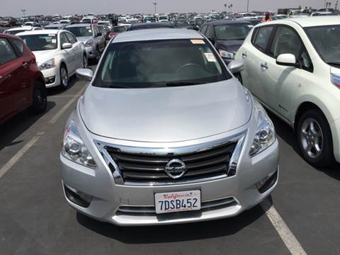2014 Nissan Altima for sale at CARSTER in Huntington Beach CA