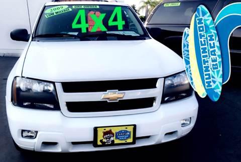 2009 Chevrolet TrailBlazer for sale at CARSTER in Huntington Beach CA
