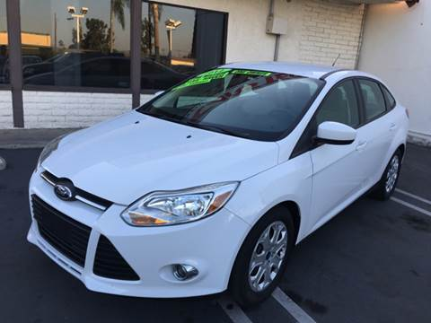 2012 Ford Focus for sale at CARSTER in Huntington Beach CA