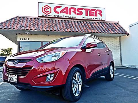 2013 Hyundai Tucson for sale at CARSTER in Huntington Beach CA