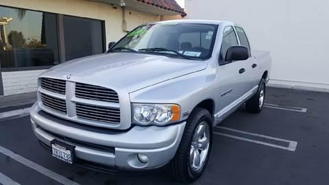 2004 Dodge Ram Pickup 1500 for sale at CARSTER in Huntington Beach CA