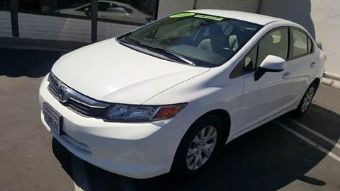 2012 Honda Civic for sale at CARSTER in Huntington Beach CA