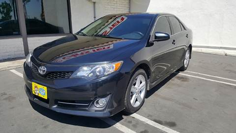 2012 Toyota Camry for sale at CARSTER in Huntington Beach CA