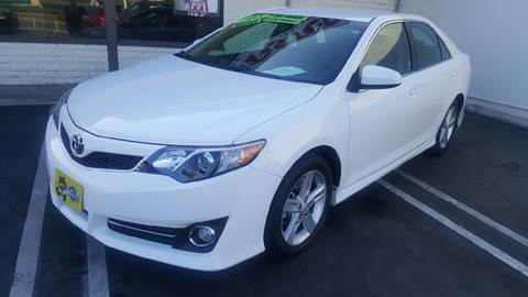 2013 Toyota Camry for sale at CARSTER in Huntington Beach CA