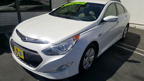 2012 Hyundai Sonata Hybrid for sale at CARSTER in Huntington Beach CA