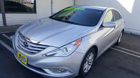 2013 Hyundai Sonata for sale at CARSTER in Huntington Beach CA