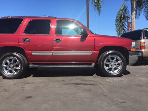 2004 Chevrolet Tahoe for sale at CARSTER in Huntington Beach CA