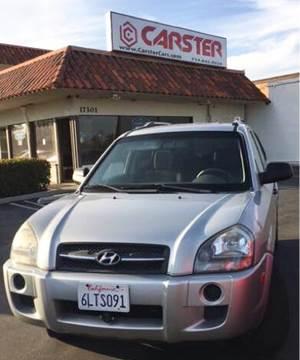 2008 Hyundai Tucson for sale at CARSTER in Huntington Beach CA