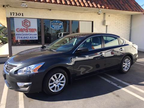 2015 Nissan Altima for sale at CARSTER in Huntington Beach CA