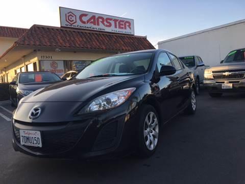 2011 Mazda MAZDA3 for sale at CARSTER in Huntington Beach CA
