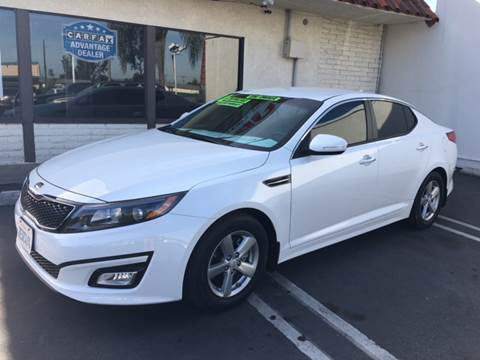 2014 Kia Optima for sale at CARSTER in Huntington Beach CA
