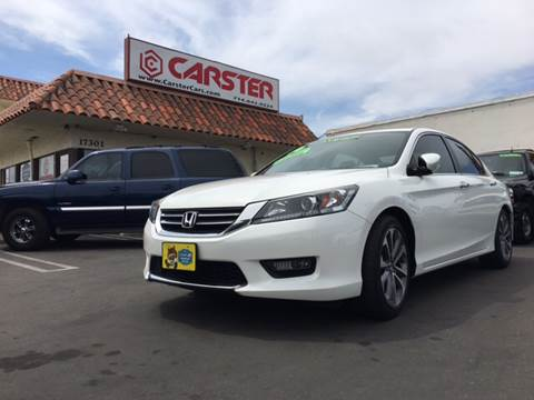 2014 Honda Accord for sale at CARSTER in Huntington Beach CA