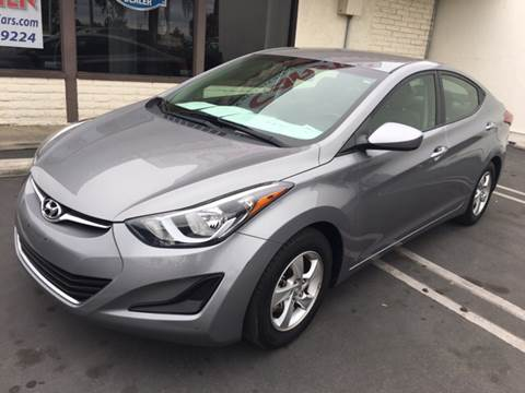 2014 Hyundai Elantra for sale at CARSTER in Huntington Beach CA