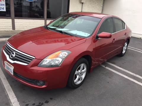 2007 Nissan Altima for sale at CARSTER in Huntington Beach CA