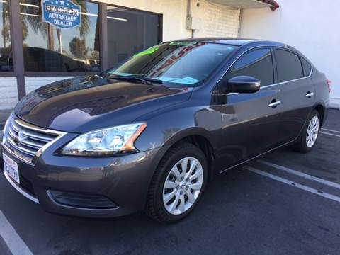 2014 Nissan Sentra for sale at CARSTER in Huntington Beach CA