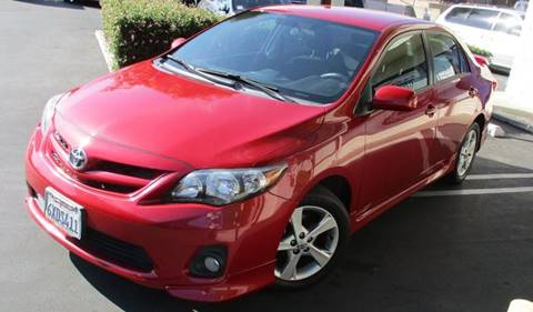 2012 Toyota Corolla for sale at CARSTER in Huntington Beach CA