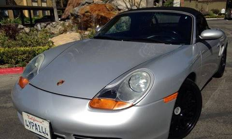 2002 Porsche Boxster for sale at CARSTER in Huntington Beach CA