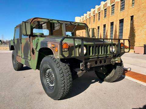 1992 AM General M998 for sale at A Motors in Tulsa OK