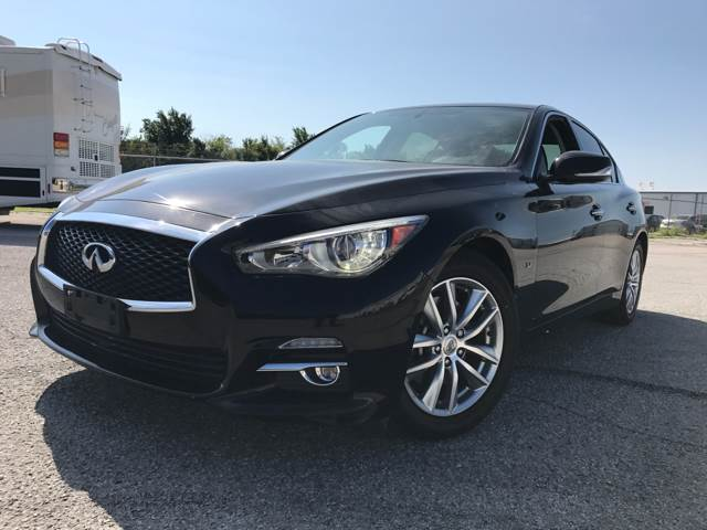 2015 Infiniti Q50 for sale at America's Auto Mall in Arlington TX