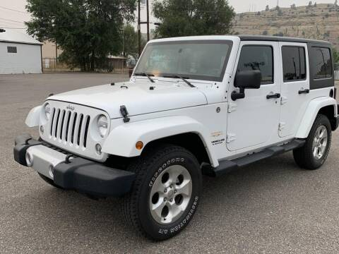 2014 Jeep Wrangler Unlimited for sale at Billings Auto Finder in Billings MT