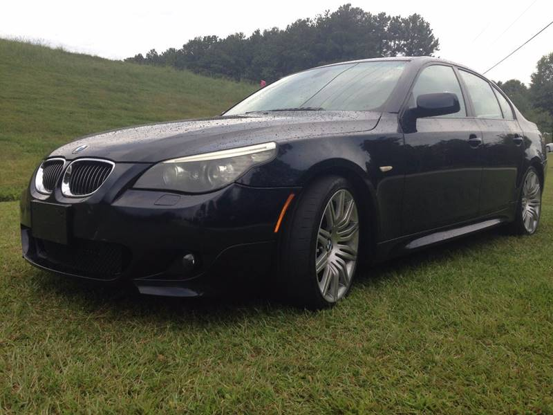 2008 BMW 5 Series for sale at PENDERGRASS PUBLIC AUTO AUCTION in Pendergrass GA